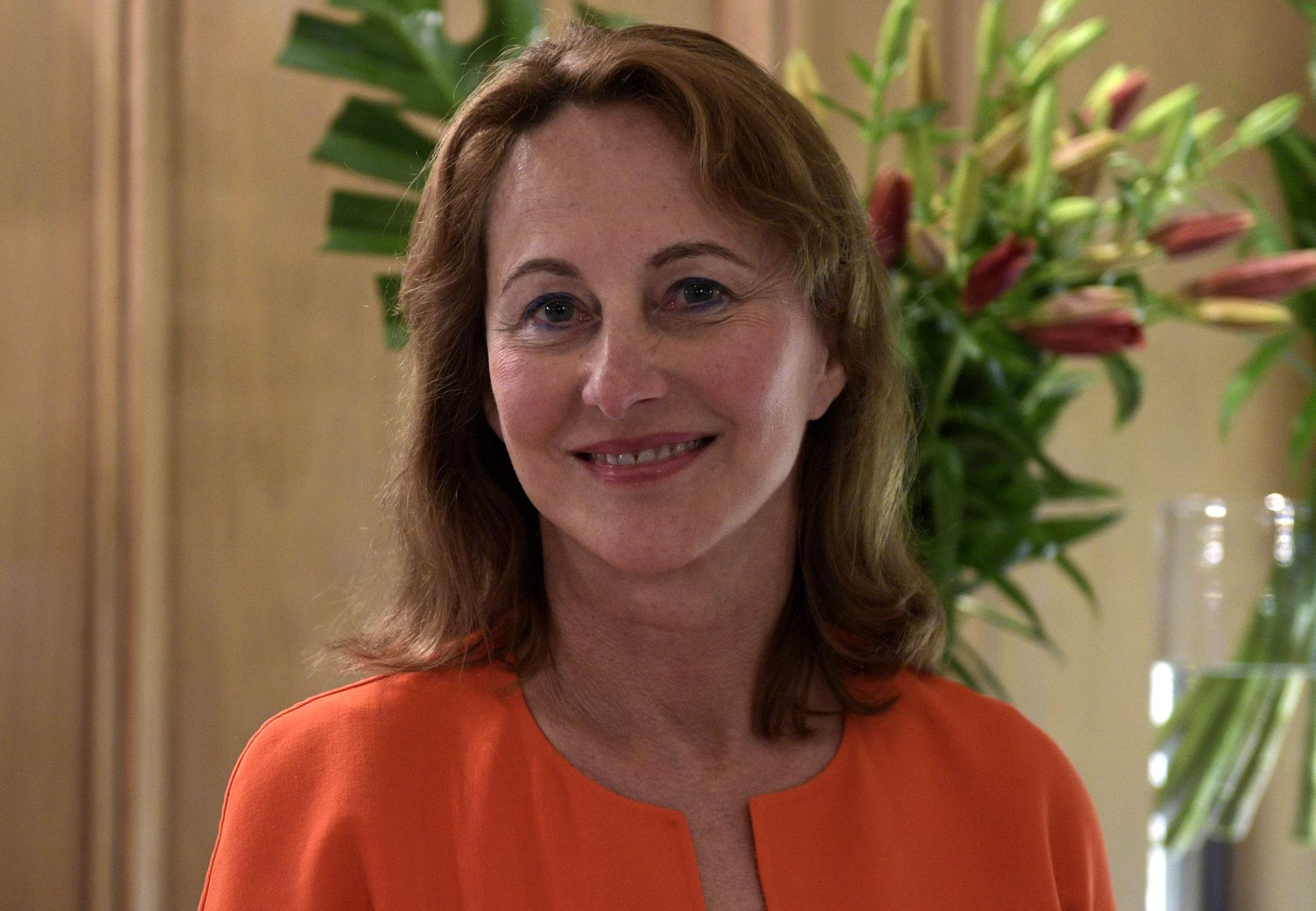Ségolène Royal, le 15 mai 2018 à Buenos Aires