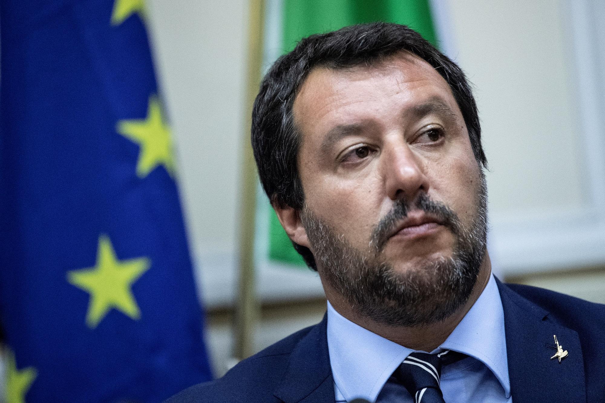 Matteo Salvini, le 28 août 2018 à Milan
