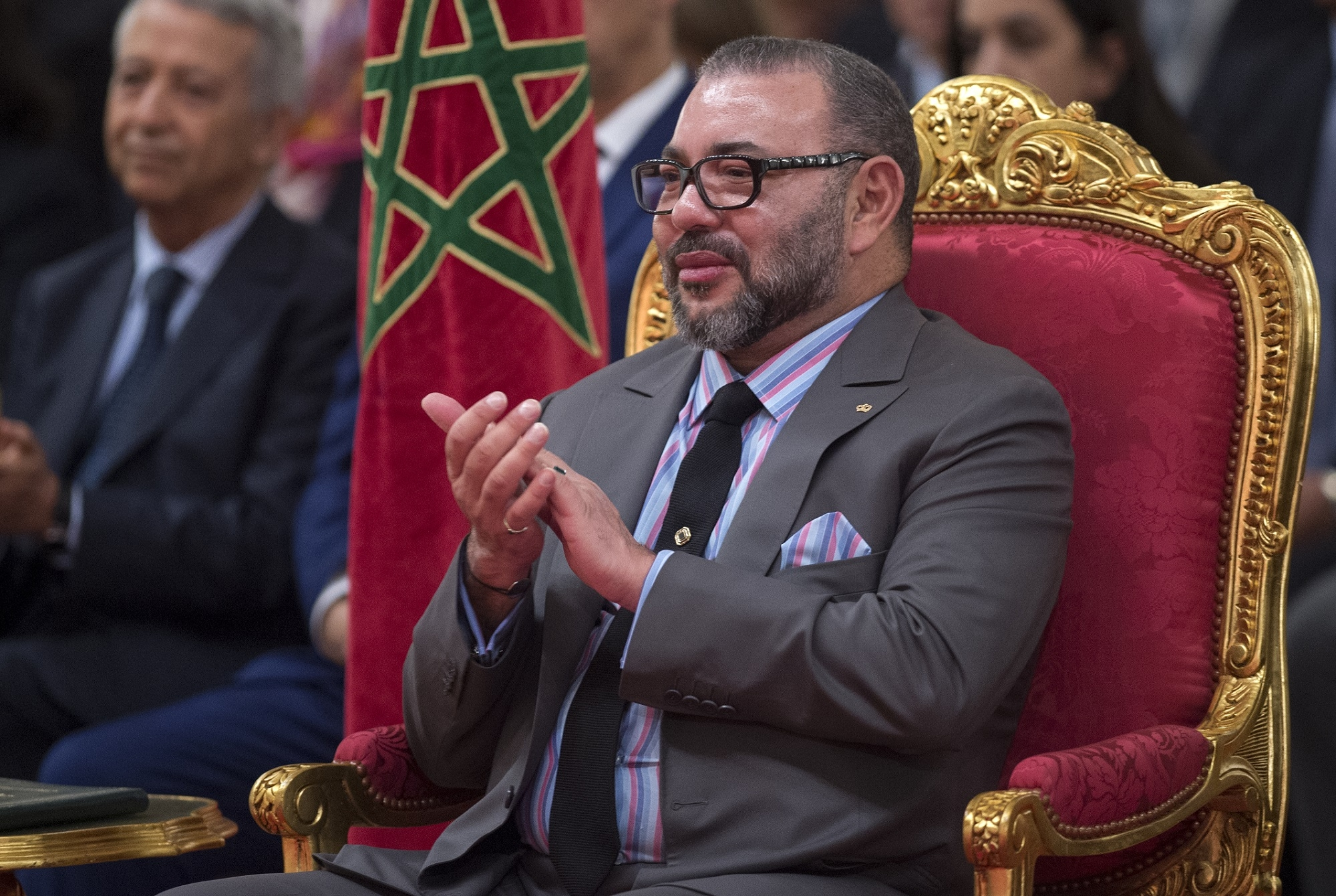 Le roi du Maroc Mohammed VI, le 11 décembre 2017 à Casablanca