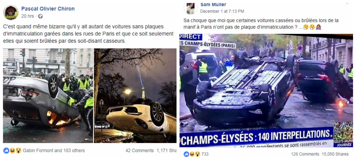 Yellow Vests Flooded By Fake News