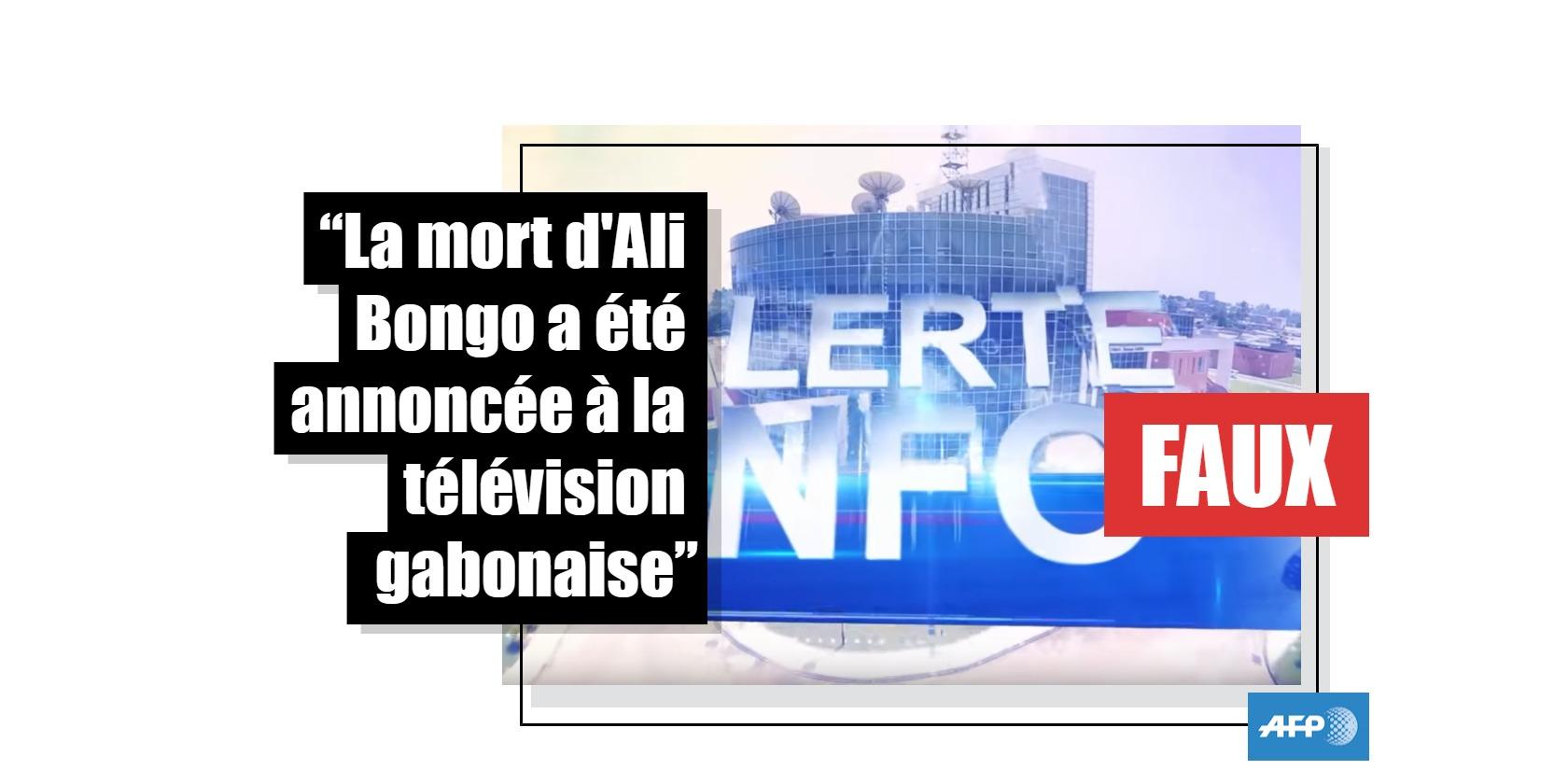Capture d'écran de la chaîne Gabon 24