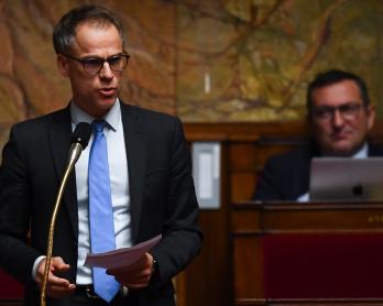 Sébastien Nadot, le 17 décembre 2019 à l'Assemblée nationale