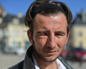 """Alexandre Frey, """"gilet jaune"""" de 37 ans, à Breteuil (Oise), le 26 février"""