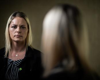 Vanessa Langard, le 19 mars 2019 au Plessis-Trévise