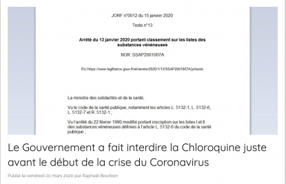 Coronavirus : Didier Raoult claque la porte du Conseil scientifique d'Emmanuel Macron