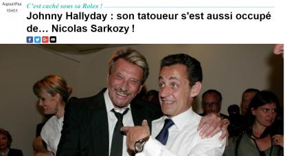 Non Nicolas Sarkozy Ne S Est Pas Fait Tatouer Le Poignet Avec