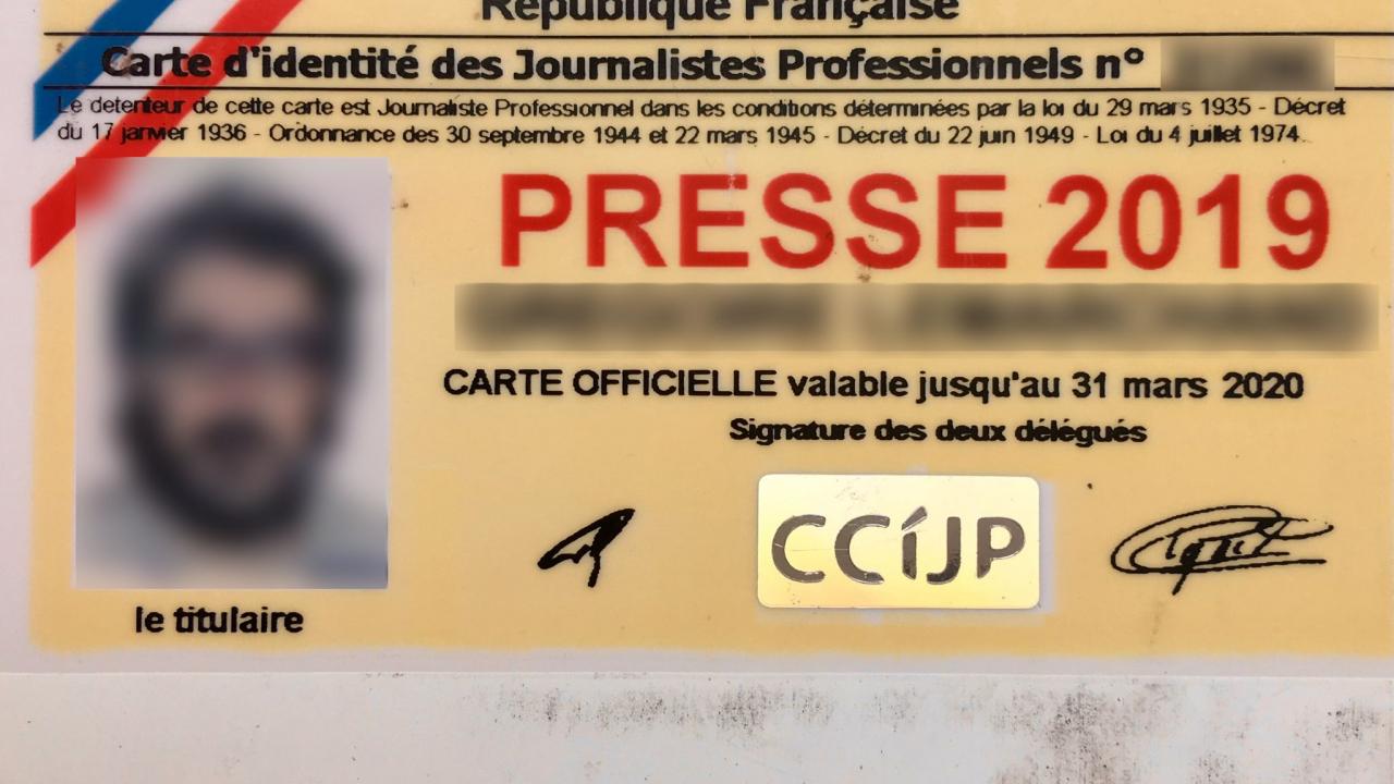 Non La Carte De Presse N Est Pas Obligatoire Pour Etre Journaliste En France Factuel